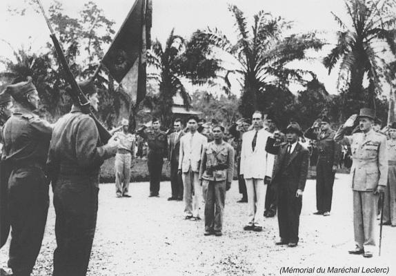 La Reconquête - Leclerc à Hanoï, 18 Mars 1946 Leclerc